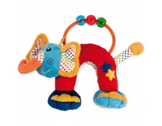 """Мягкая игрушка-погремушка """"Слон"""""""