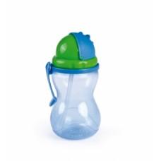 Чашка-поилка со складывающейся трубочкой