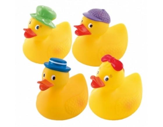 """Игрушка для купания резиновая """"Веселая утка"""""""