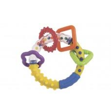 Погремушка «Разноцветные колечки», 0+